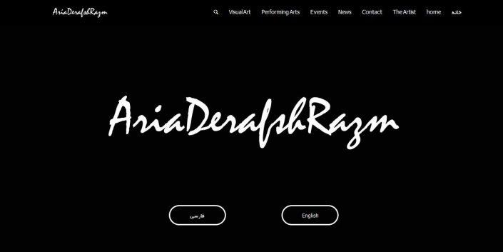 سایت Aria Derafsh Razm