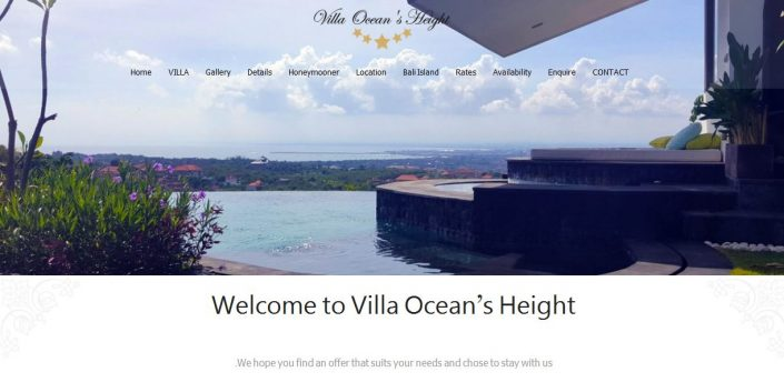 سایت Villa Ocean's Height